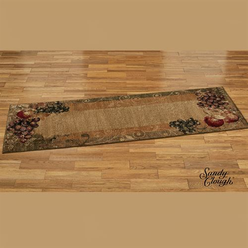 Tuscan Countryside Rug Runner Multi Earth 27 x 76