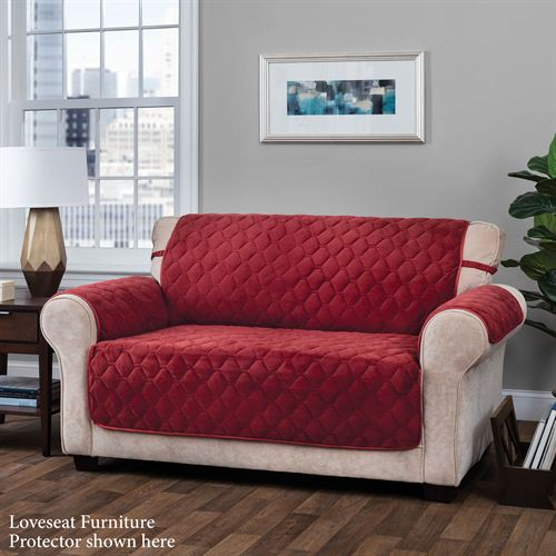 Geo Furniture Protector Burgundy Recliner/Wing Chair