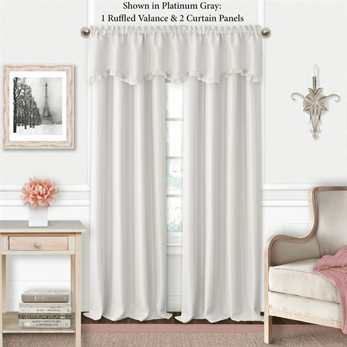 Lively Tailored Curtain Panel