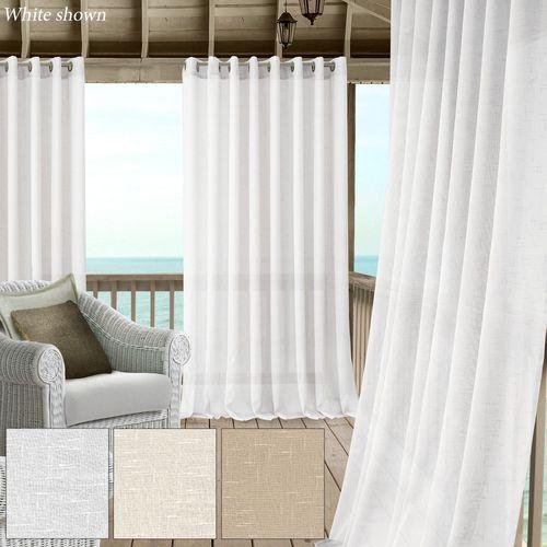 Munroe Wide Sheer Grommet Curtain Panel