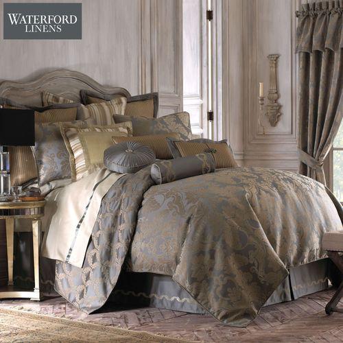 Walton Comforter Set Dark Gray