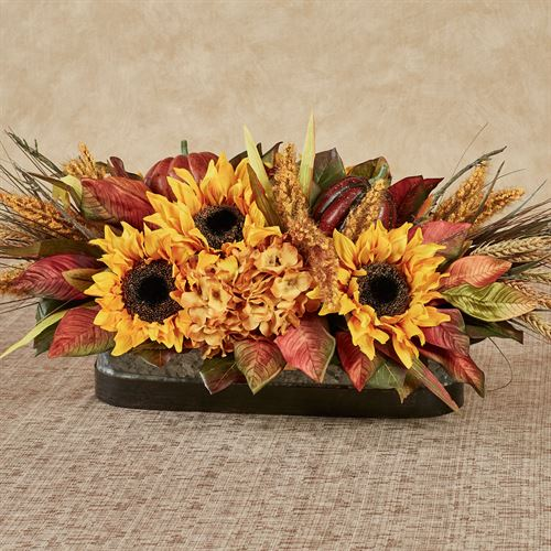 Harvest Blessing Fall Centerpiece Multi Warm