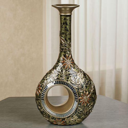 Evangeline Decorative Vase Multi Metallic