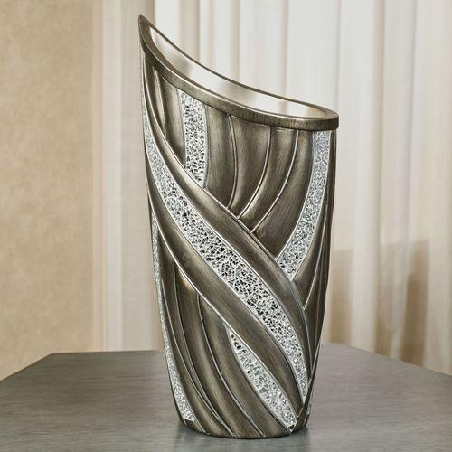 Macarthur Decorative Vase Silver