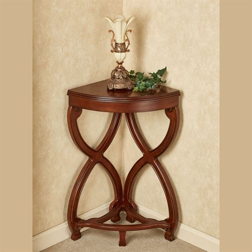 Ninan Corner Table Estate Mahogany