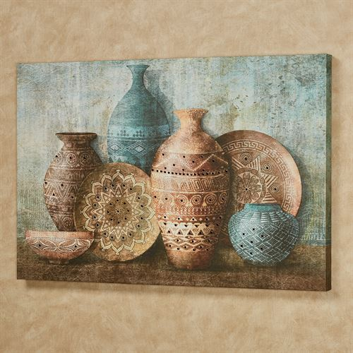 Canyon Ridge Vessels Canvas Wall Art Multi Cool