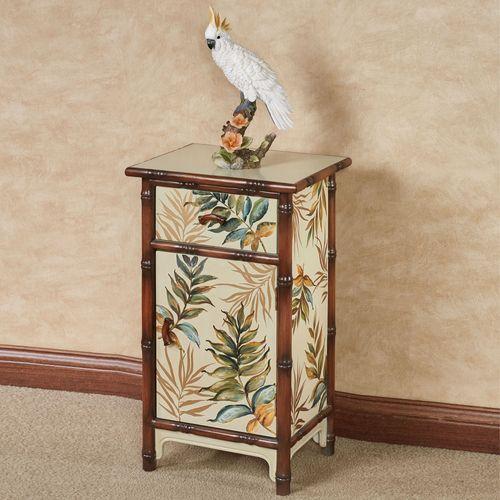 Tarina Tropical Storage Cabinet Cream