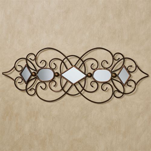 Sonatina Mirrored Wall Art Bronze