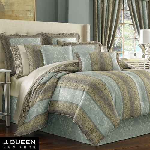 Hemmingway Comforter Set Sterling Blue