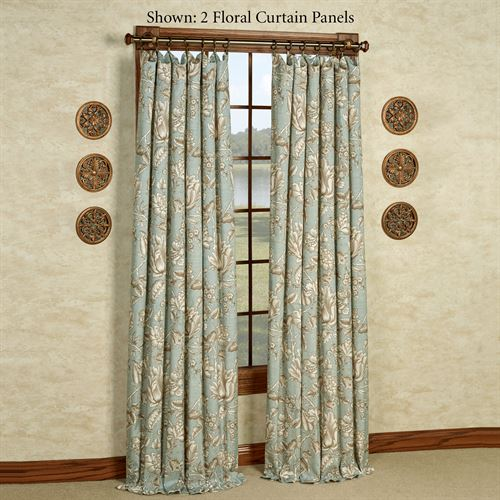 Grammercy Tailored Curtain Panel Teal 48 x 84