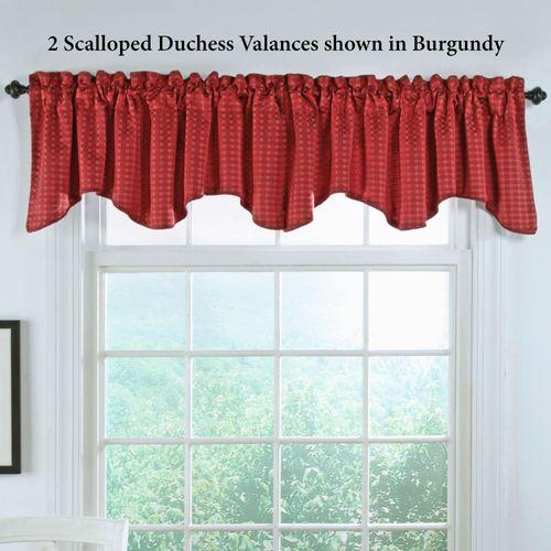 Boxwood Duchess Valance 52 x 17
