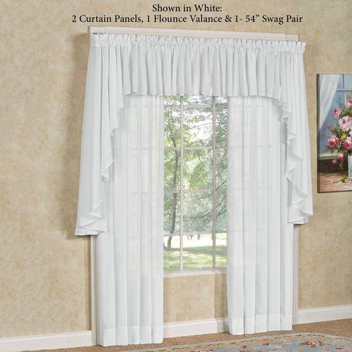 Sea Glass II Tailored Curtain Panel