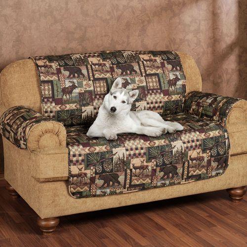 Lodge Pet Sofa Cover Multi Warm Sofa