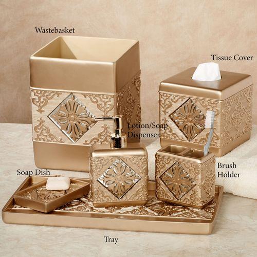 Majesty Lotion Soap Dispenser Champagne Gold