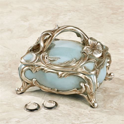 Jaylene Decorative Box Sterling Blue