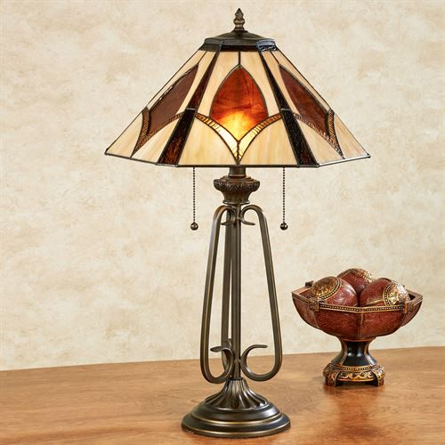 Ambree Table Lamp Multi Warm Each with CFL Bulbs