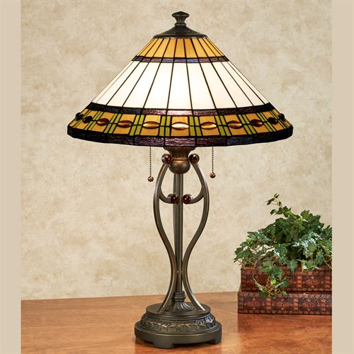 Reverye Table Lamp Multi Warm Each with CFL Bulbs