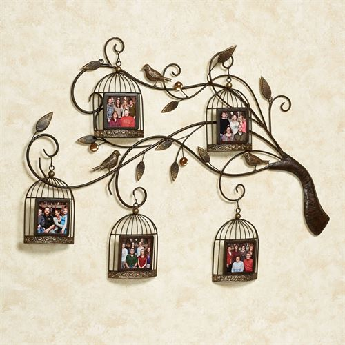 Aviary Array Photo Wall Art Brown