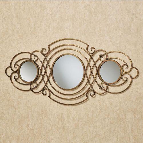 Sanford Mirrored Wall Accent Bronze