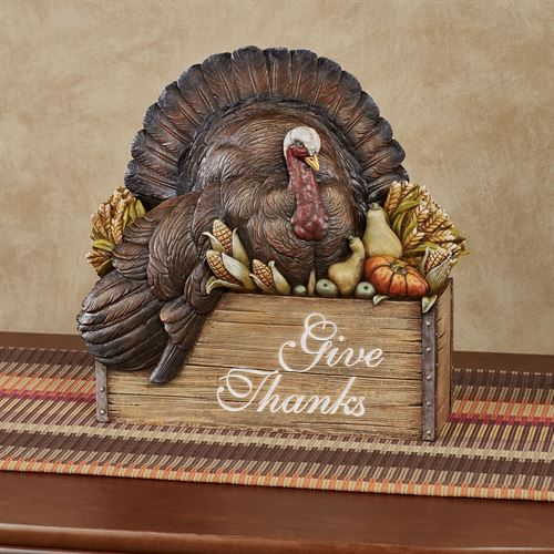 Turkey Table Accent Brown