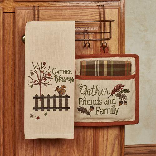 Gather 3 pc Fall Kitchen Linen Set