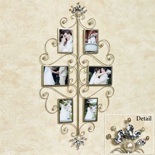 Giselle Photo Wall Accent Platinum