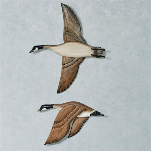 Flying Geese Wall Art Set  Set of Two