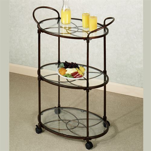 Sphaira Serving Cart Bronze