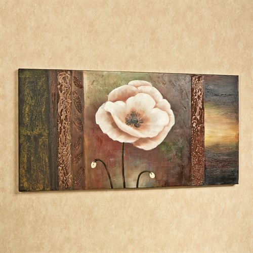 Sentimental Spring Canvas Wall Art Multi Earth