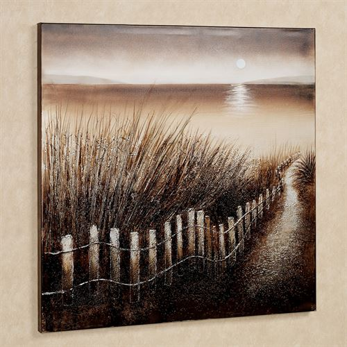 Shadows of the Night Canvas Wall Art Multi Earth