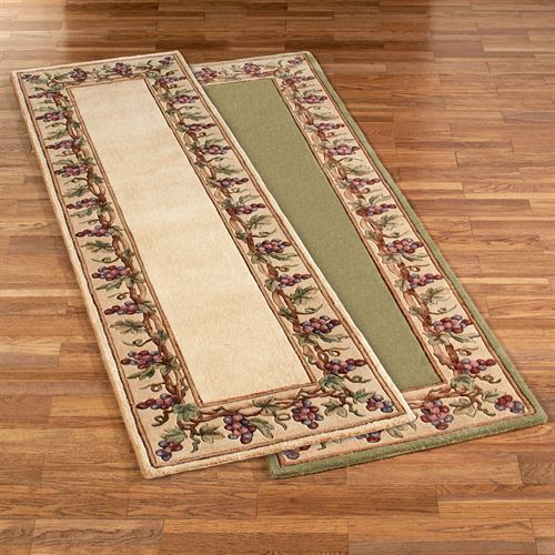 Grapes Napa Border Rug Runner