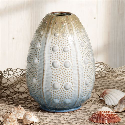 Coastal Sea Urchin Table Vase Multi Cool
