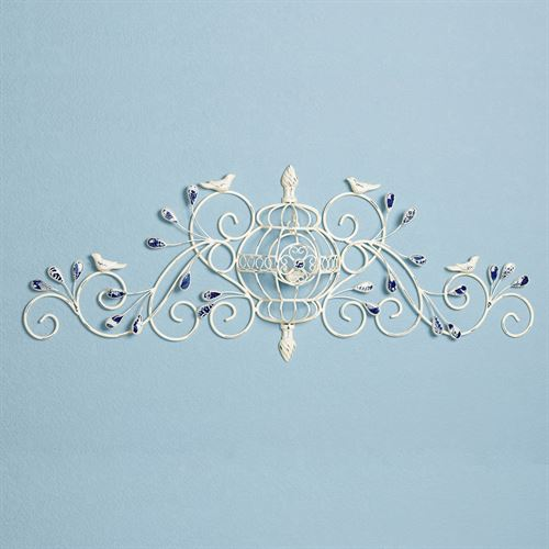 Marsciano Birdcage Wall Grille White