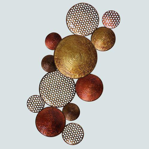 La Moment Circle Abstract Metal Wall Art