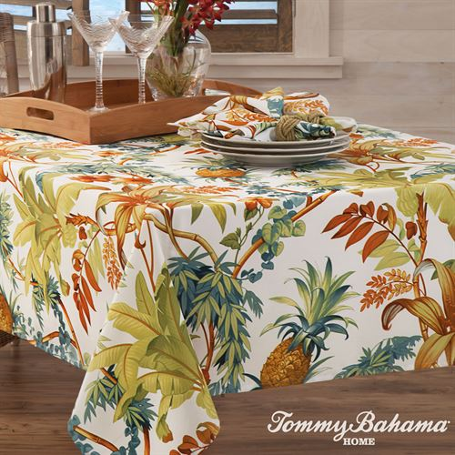 Tortuga Oblong Tablecloth White