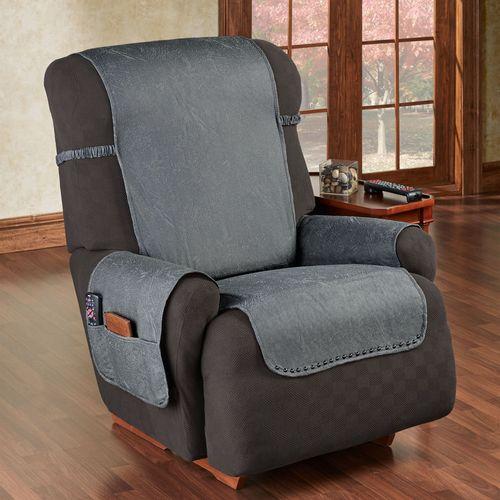 Stonehill Furniture Protector Dark Gray Recliner