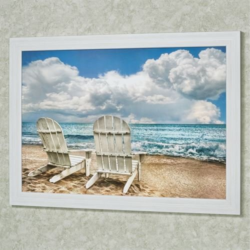 Island Attitude Coastal Framed Wall Art