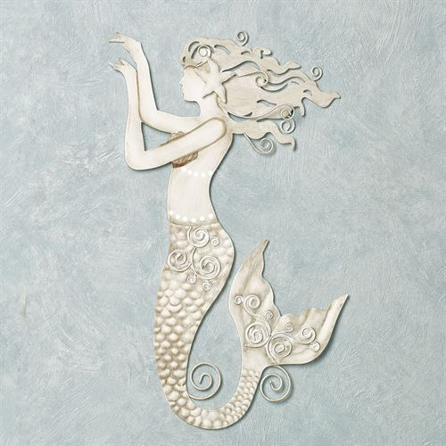 Mermaid Wall Art Natural