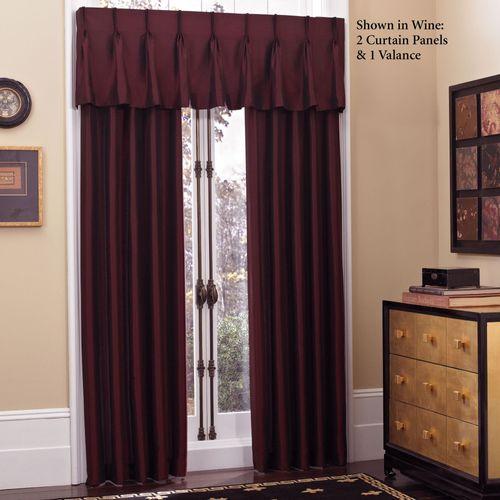 Newport Pinch Pleat Look Curtain Panel 27 x 84
