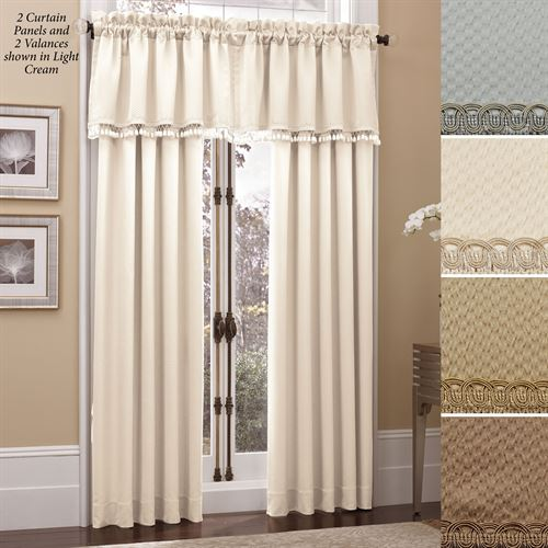 Pebble Tailored Curtain Panel 50 x 84