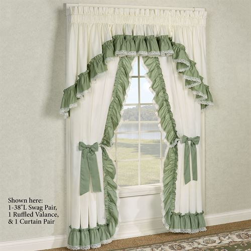 Madelyn Priscilla Curtain Pair