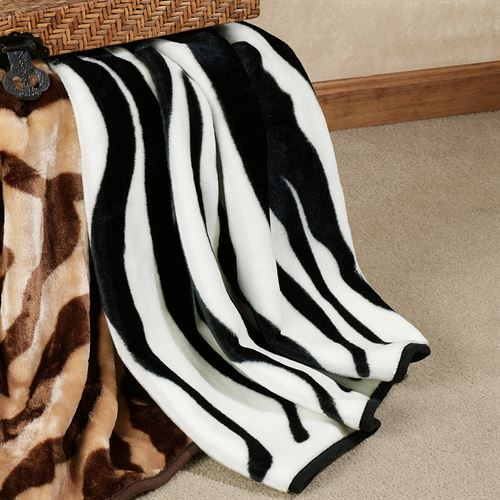 Animal Skin Print Throw