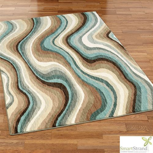 Larkhall Rectangle Rug Multi Earth