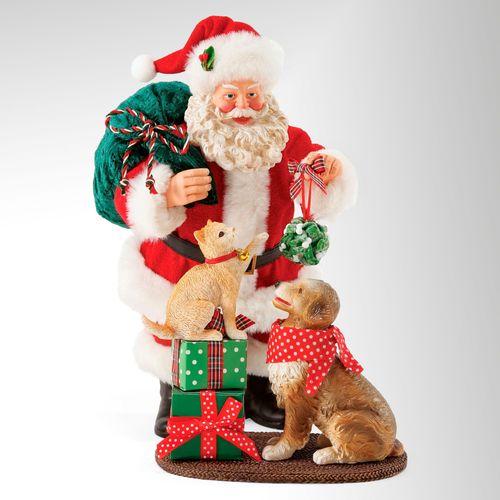 Mistletoe and Holly Clothtique Santa Red 2 Piece Set