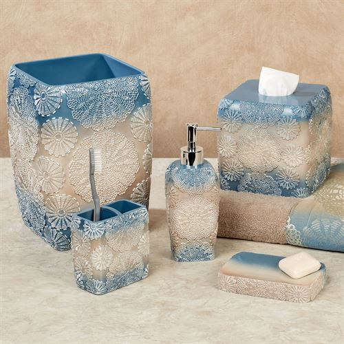 Fallon Blue Lotion Soap Dispenser Blue Shadow