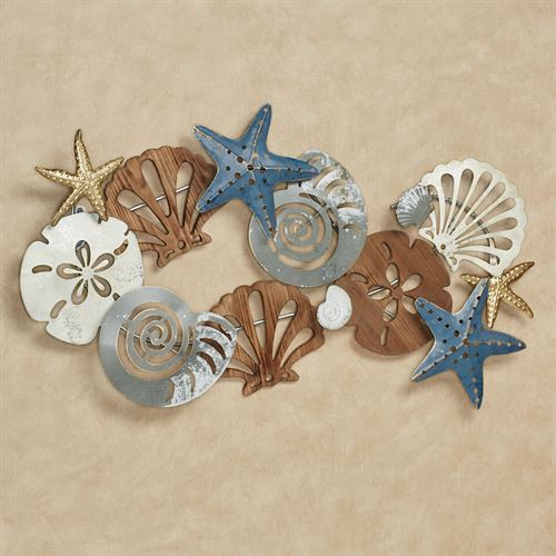 Coastal Medley Wall Art Multi Earth