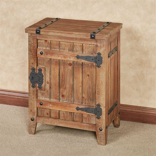 Andover Storage Cabinet Aged Brown
