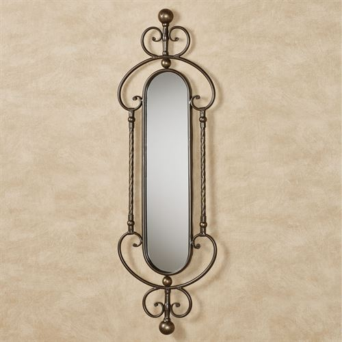 Lakyla Mirrored Wall Accent Brown