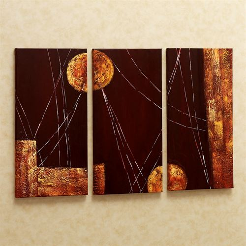 Night Thoughts Triptych  Set of Three