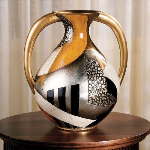 Earths Core Vase Multi Metallic